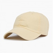 NEWHATTAN Cotton Ballcap Lt.Yellow