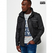 SUPERDRY(남) ROOKIE WAX MILITARY JACKET 0SD71MWJ02
