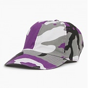 NEWHATTAN Cotton Ballcap Purple Camo