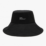 [피스메이커] WIDE BUCKET HAT (BLACK)