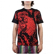 MISHKA Zombie VII Revisited T-Shirt BLACK/RED