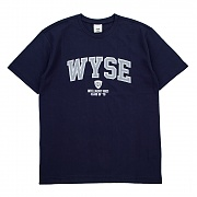 와이즈 wyse college tee navy