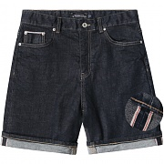 모디파이드 1/2 selvedge one washed shorts