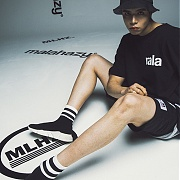 마라하지 Banding-Shorts-BLACK