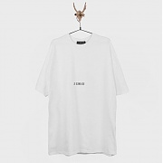 [르 센스 드]LEGAL ILLEGAL T-SHIRTS WHITE