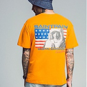 세인트페인 SP OUR ANTHEM TEE SS-ORANGE