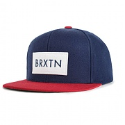 BRIXTON RIFT SNAP BACK NAVY/RED