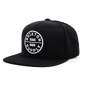 BRIXTON OATH III SNAP BACK BLACK