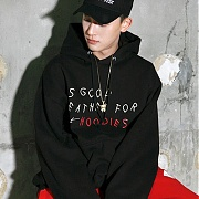 스턴트 Good Weather Hoodie (Black)