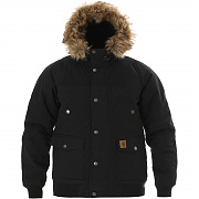 칼하트 WIP 트래퍼 자켓 블랙 (CARHARTT TRAPPER JACKET BLACK / BLACK)