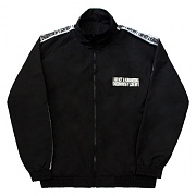 아임낫어휴먼비잉17FW Basic Logo Tape Track Top Jacket - Black