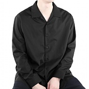 티알마크 NO TIE SHIRT BLACK