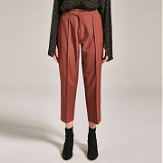 얀13 BILLY WIDE PANTS_BROWN