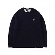 Club Quilted T-shirts 1554 Navy