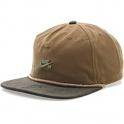 나이키 SB 왁스 캔버스 프로 캡 에일 브라운 (NIKE U NK CAP SB WAXED CANVAS PRO ALE BROWN/BAROQUE BROWN/ANTHRACITE)