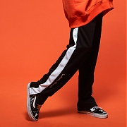 카네브로스 (CB) COLOR LINE WIDE TRACK PANTS_WH