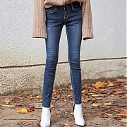 얀13 UNIQUE SLIM JEAN_DENIM