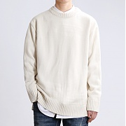 JHONNY WEST - Lambs Wool 8 Cable Knit (Cream)