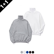 (단독가)어커버 (1+1) TURTLENECK SWEATSHIRTS
