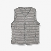 마실러 WARM DOWN VEST Gray