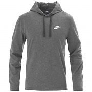 나이키 NSW 클럽 풀오버 저지 후드 챠콜(NIKE NSW CLUB PULLOVER JERSEY HOODY CHARCOAL HEATHER)