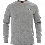 나이키 NSW 모던 플리스 맨투맨 챠콜(NIKE NSW MODERN FLEECE CREW CHARCOAL HEATHER)