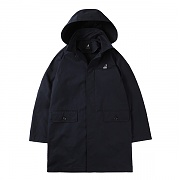 Hooded Field Coat 6502 Navy