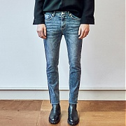 얀13 LINE POINT FLAMINGO JEAN_DENIM