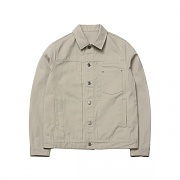 Basic Trucker Jacket 8504 Beige