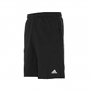 아디다스 에센셜 RH FT 쇼츠 팬츠 블랙(ADIDAS ESSENTIALS RAW HEM FT SHORT PANTS BLACK)