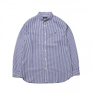 Basic Striped Shirts 7026 Blue