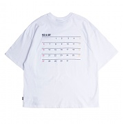 로맨틱크라운 Scheduler T_Shirt_White