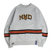 로맨틱크라운 Band Line Crew Neck_Grey