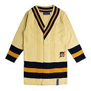 로맨틱크라운 Band Line Knit Cardigan_Butter
