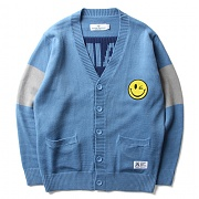 세인트페인 SP SMILEY CARDIGAN-BLUE