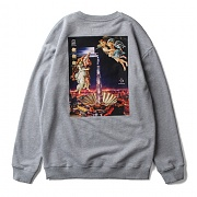 세인트페인 SP BABYLON CREWNECK LS-GRAY