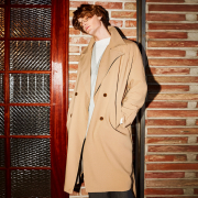 얀13 TOM OVER FIT TRENCH COAT_BEIGE