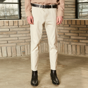 얀13 NORMAL COTTON PANTS_IVORY