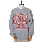CHICAGO BULLS WINNER TAKES ALL CREW SWEATSHIRTS - GREY