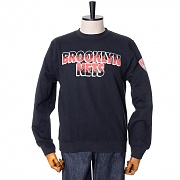 BROOKLYN NETS INFARED PROGRAMME 2 CREW SWEATSHIRTS - BLACK