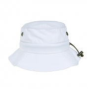 WARM UP BUCKET HAT-WHITE