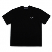 [아이넨] silhouette t-shirts black