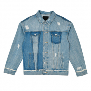 [카이아크만] UNBLANCE WASHING DENIM JACKET_INDIGO(KQADJ398U0)