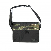 [MIS][Exclusive] Padded Shoulder Bag - Green Tiger Black Mixed